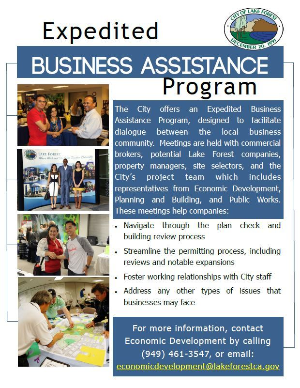 Expedited Business Assistance Program