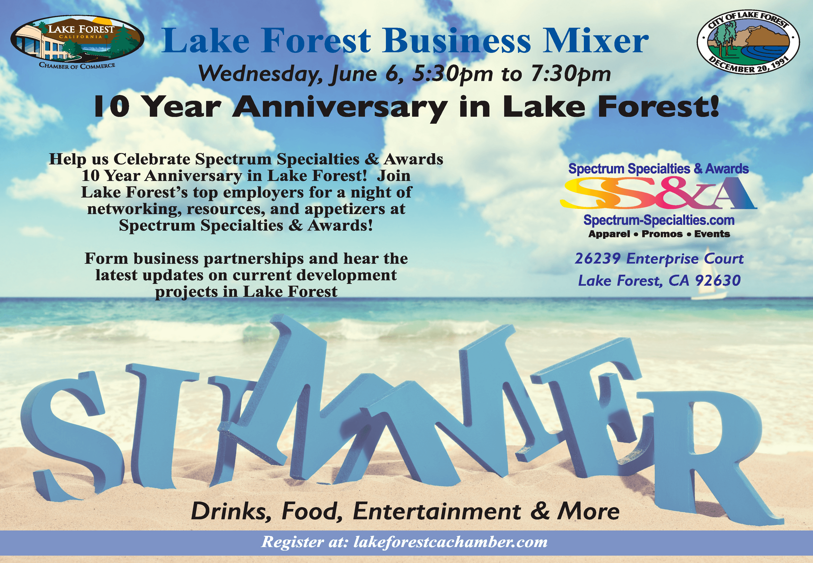 Business Mixer Flyer
