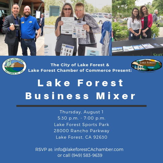 August 2019 Business Mixer