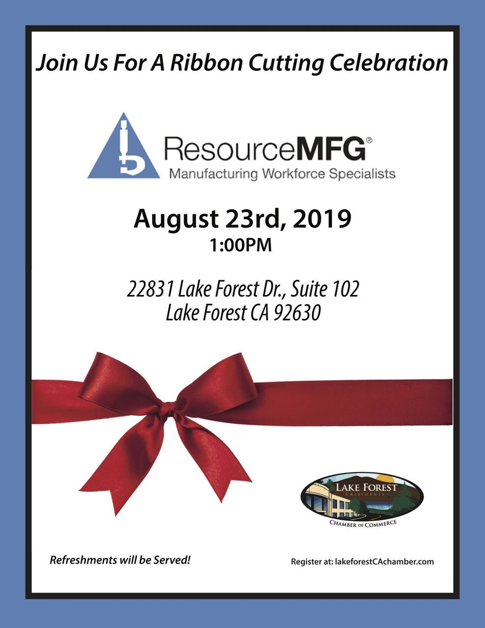 Resource MFG Flyer