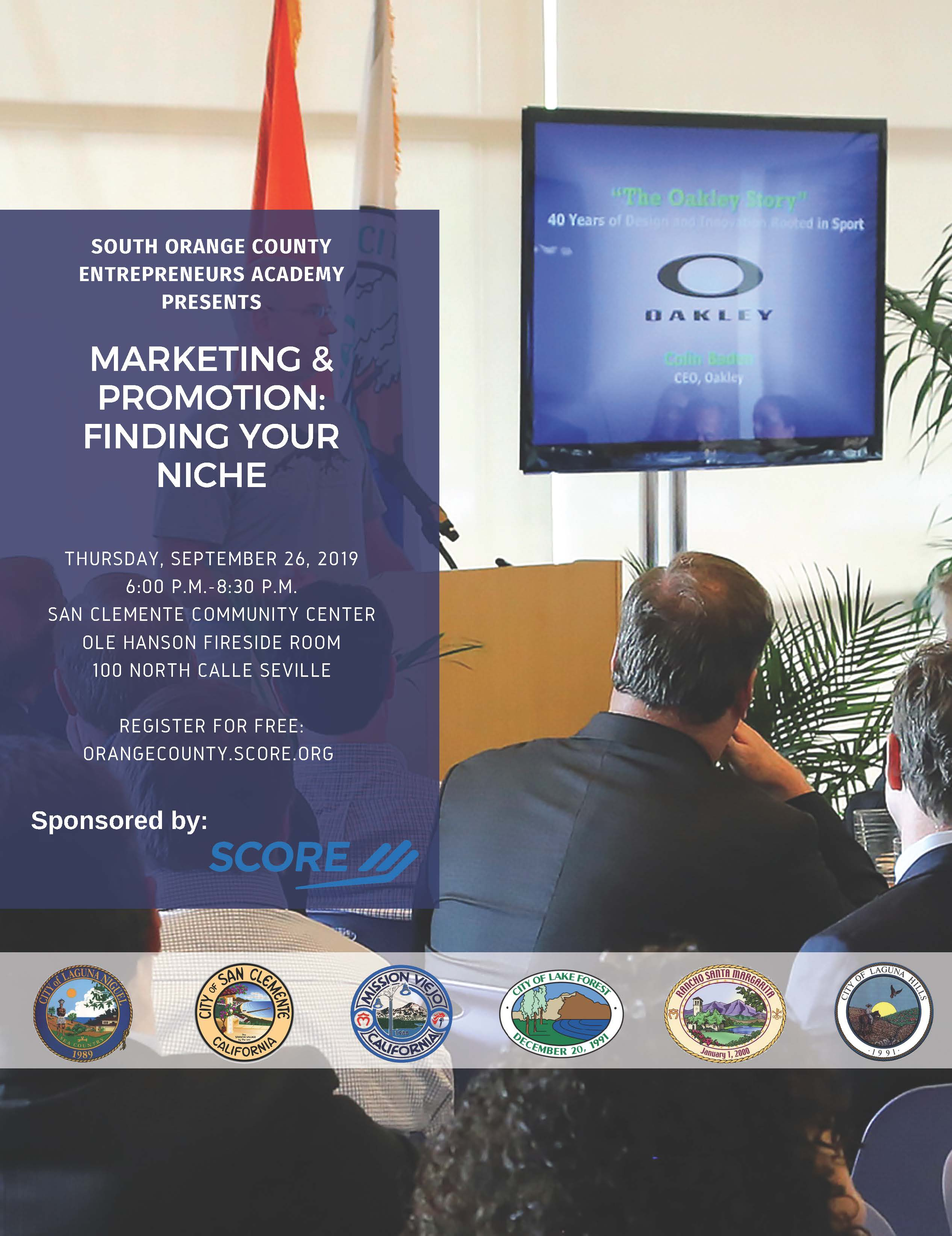 Marketing and Promotion - Finding your Niche