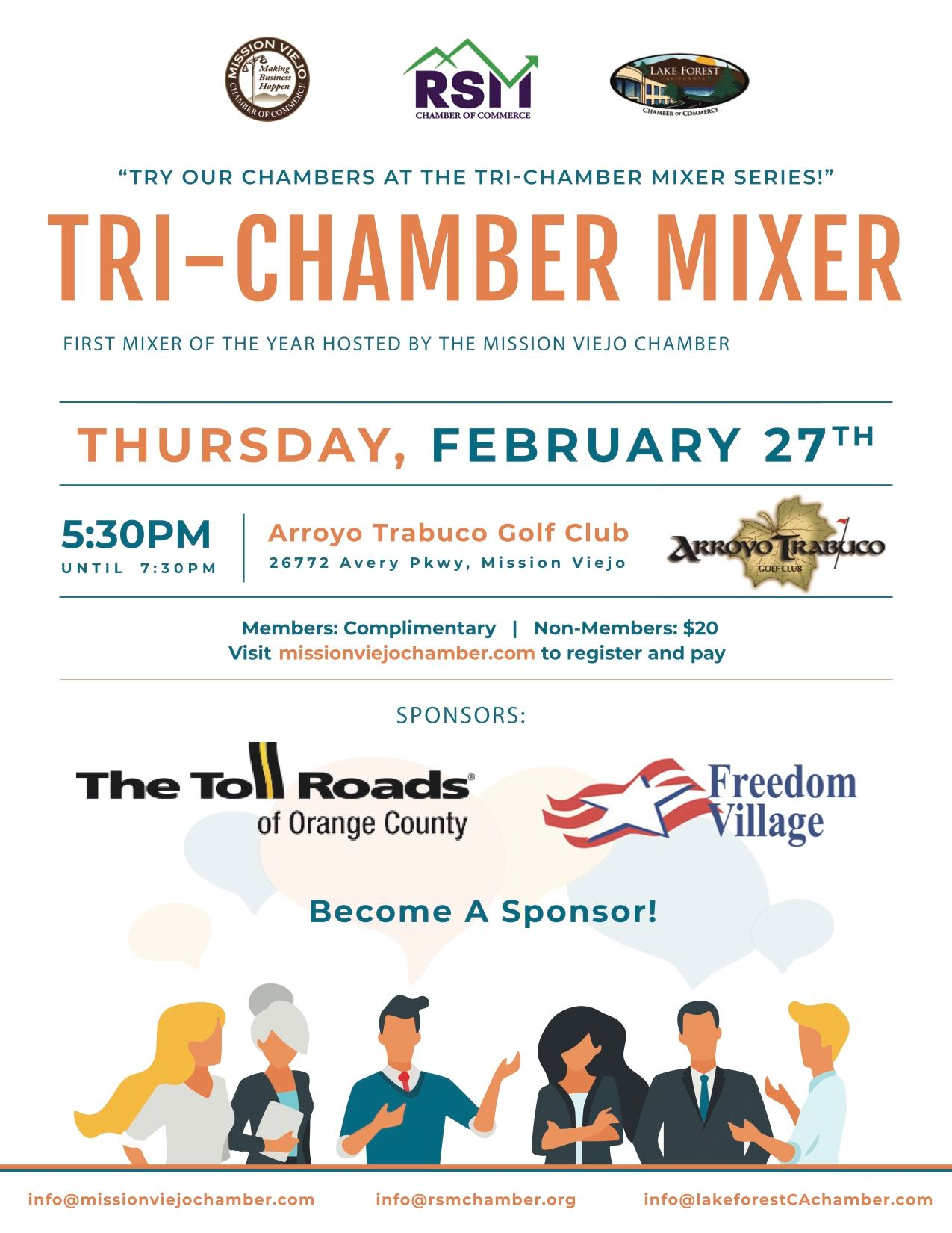 Tri Chamber Mixer Save the Date