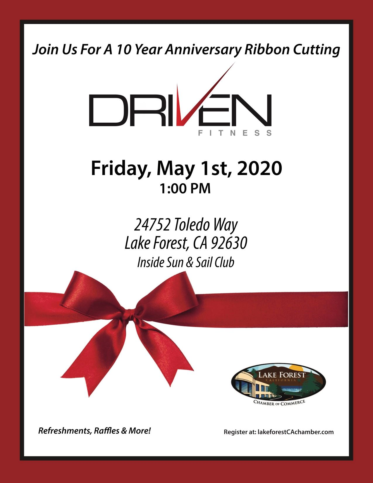 Driven Fitness Ribbon Cutting