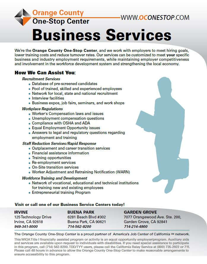 OC One Stop Business Services