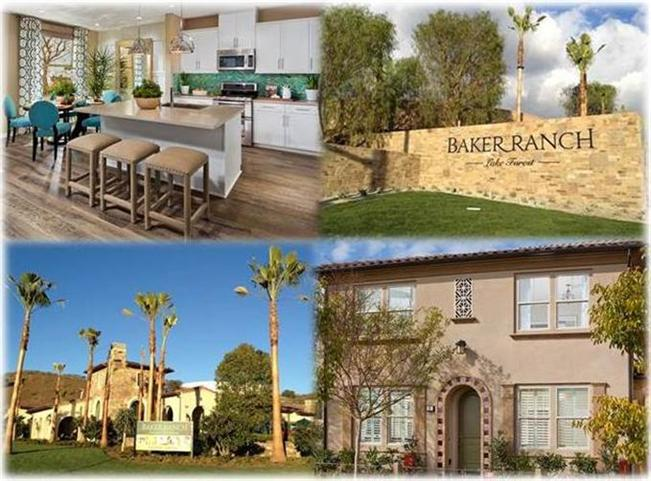 Baker Ranch Collage Interior, Exterior, and Sign