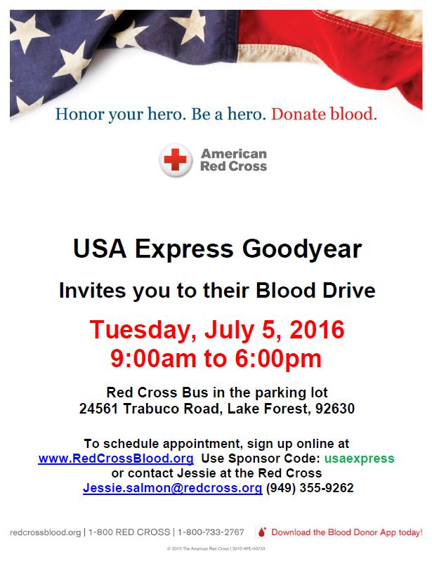USA Express Goodyear Blood Drive.JPG